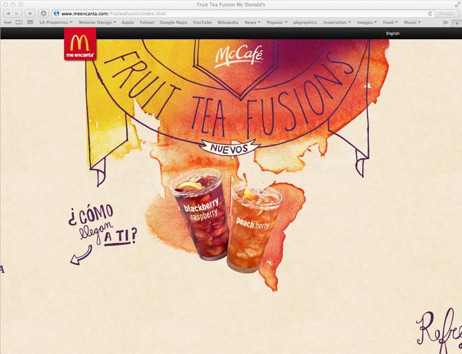 McDonald\'s Fruit Tea Fusion - Jamie Tao