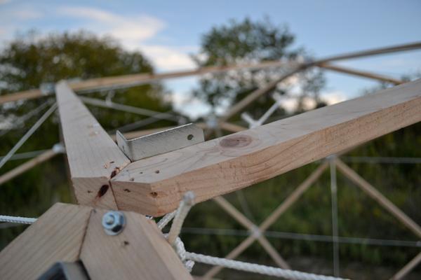 Build A Car >> Wooden Space Frame Exploration - Erin Hylton Architecture