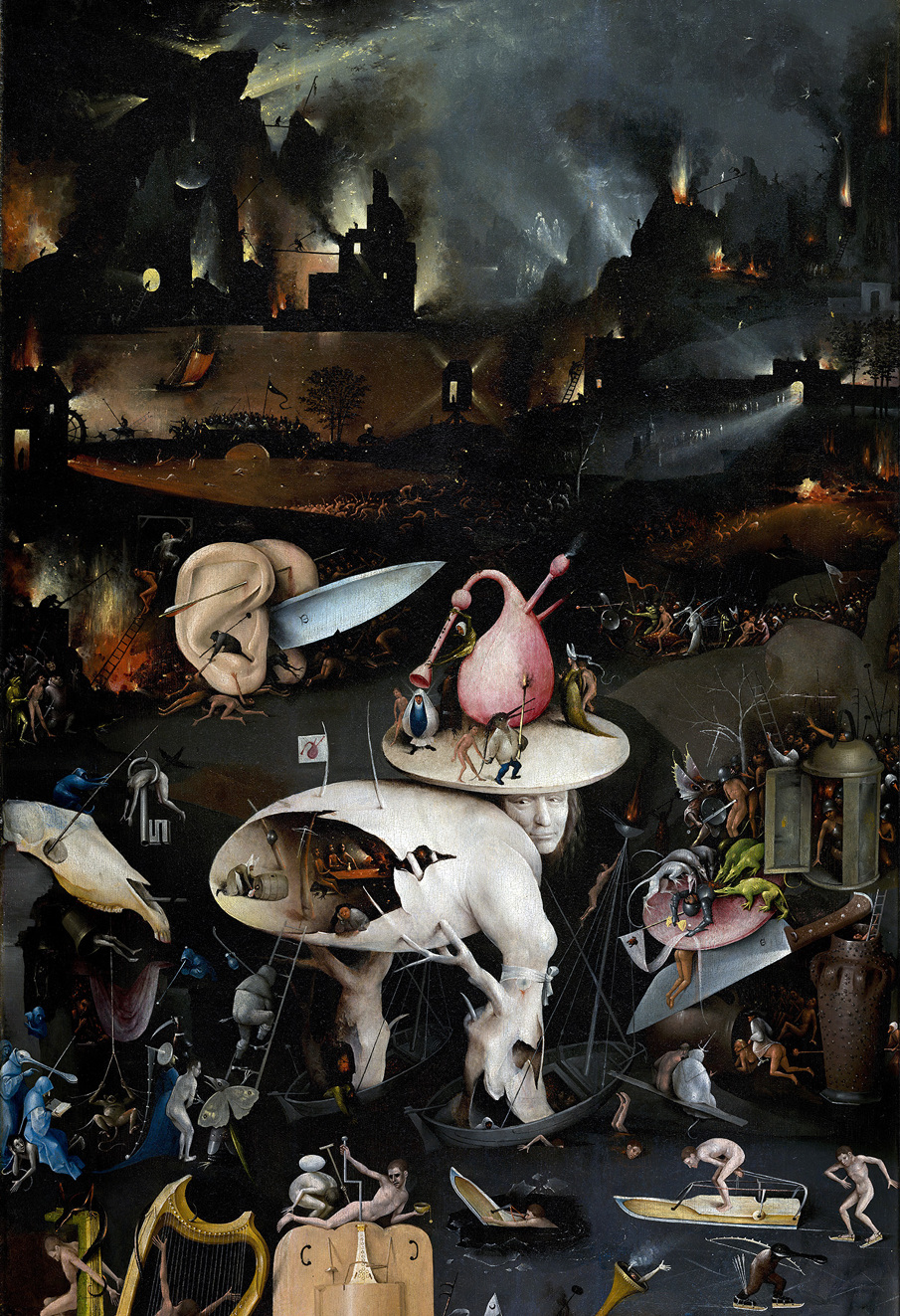 Garden Of Earthly Delights Europa Cargo Example Design