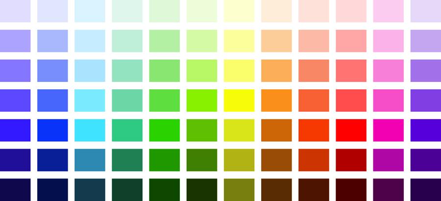 Le nuancier de 84 teintes quelle couleur fait il - Nuancier couleur peinture pour cuisine ...